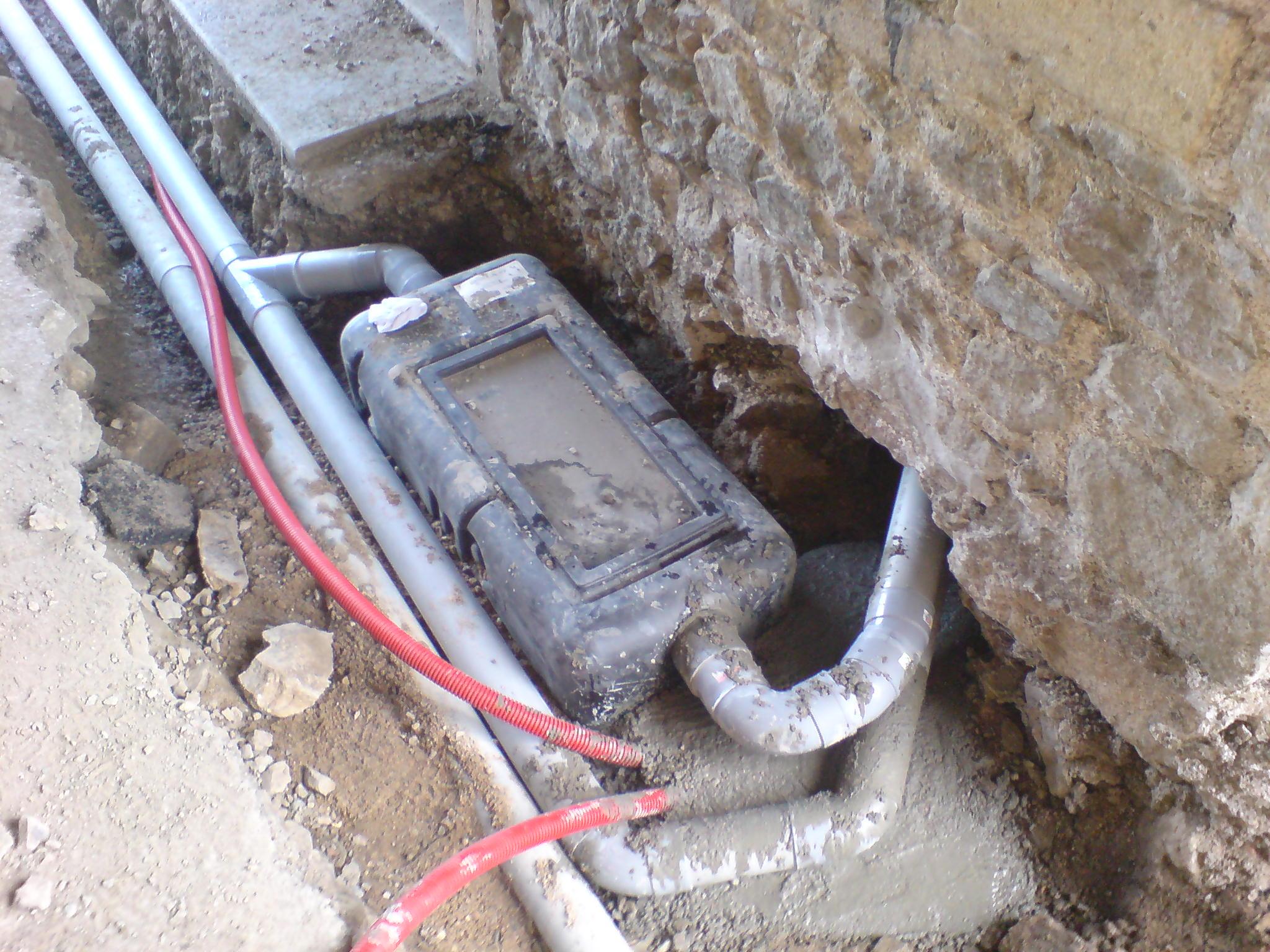 Le r seau d vacuation le chantier la ferme - Produits a ne pas mettre dans une fosse septique ...